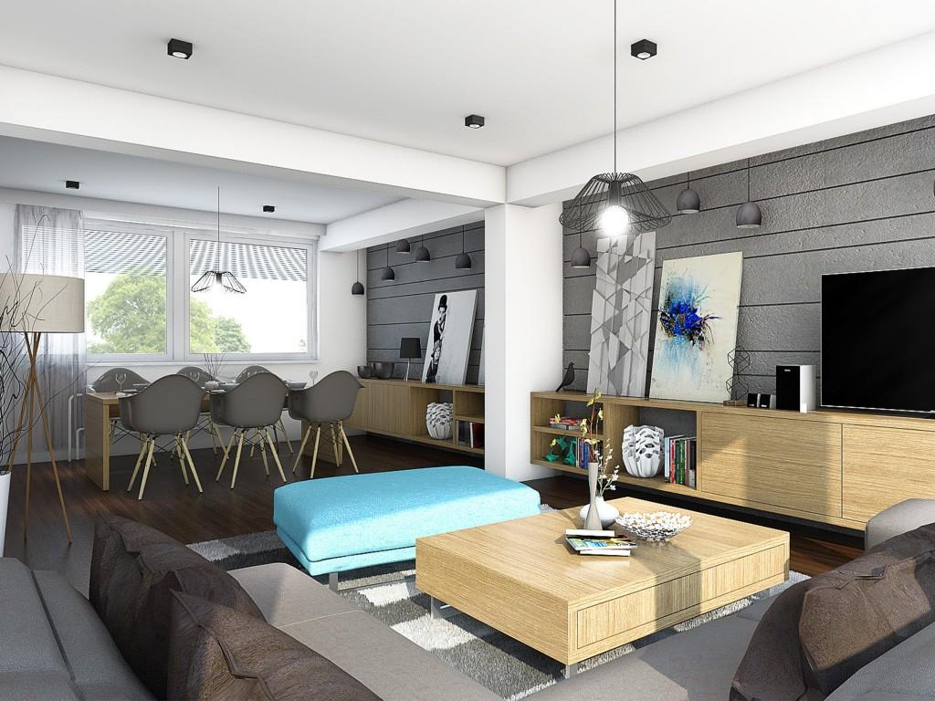 Obývačka rodinného domu - Michalovce