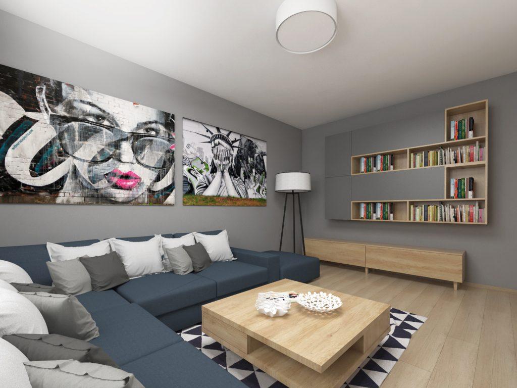 Interiér dvojizbového bytu v Michalovciach - Michalovce