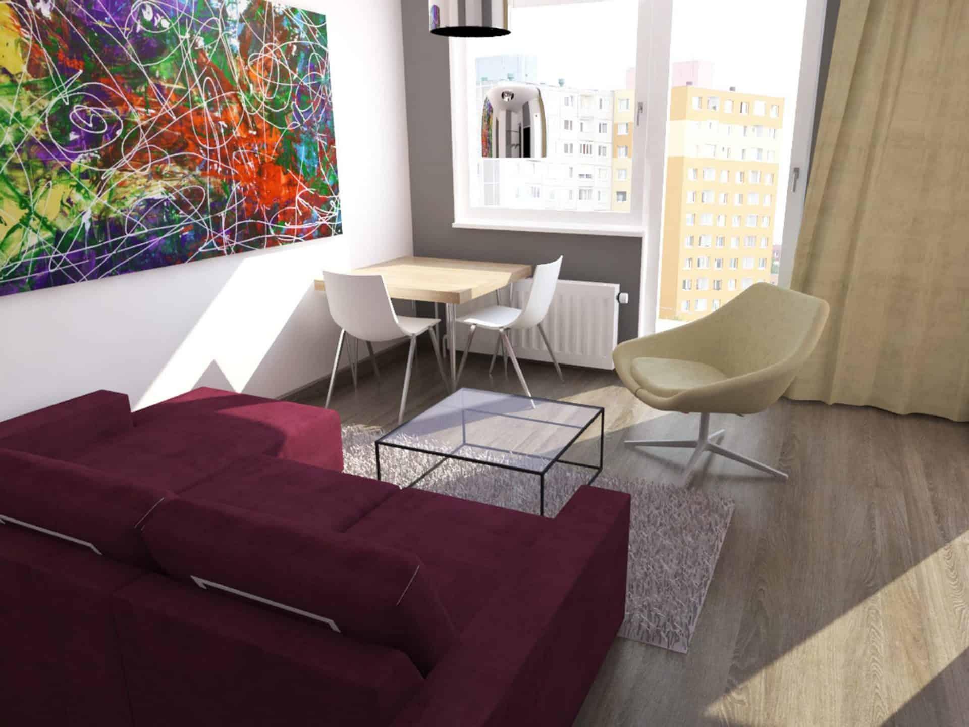 2-izbový byt – Košice