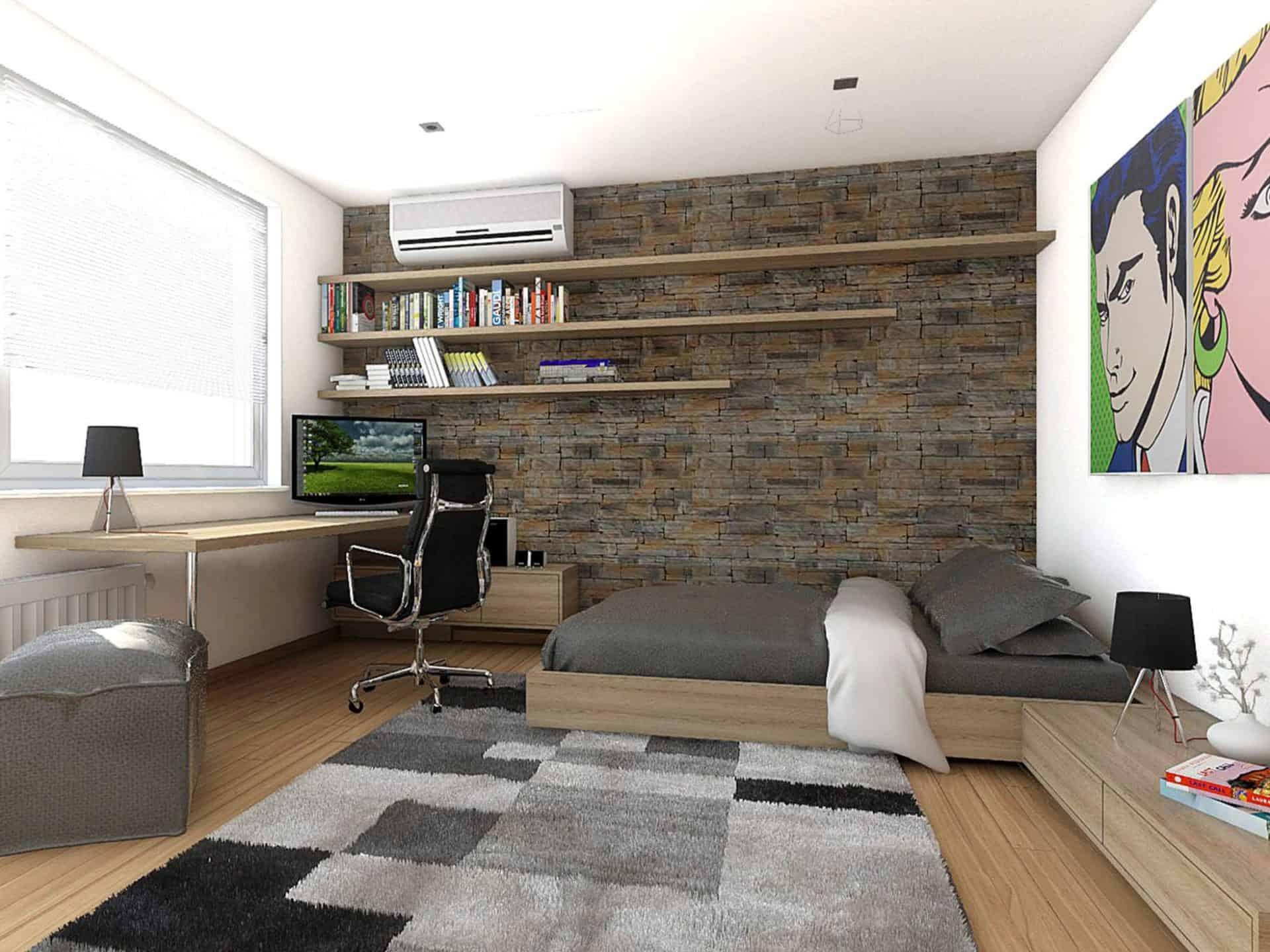 Detské izby v rodinnom dome