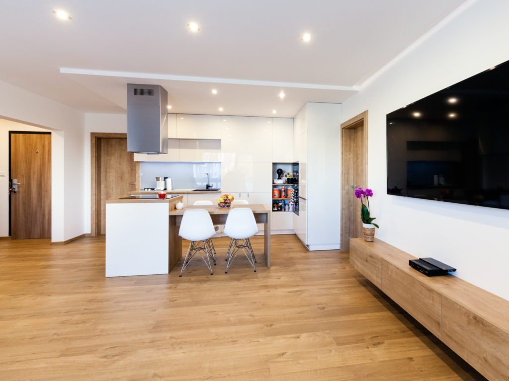 Kompletná rekonštrukcia 4 izbového bytu - Michalovce