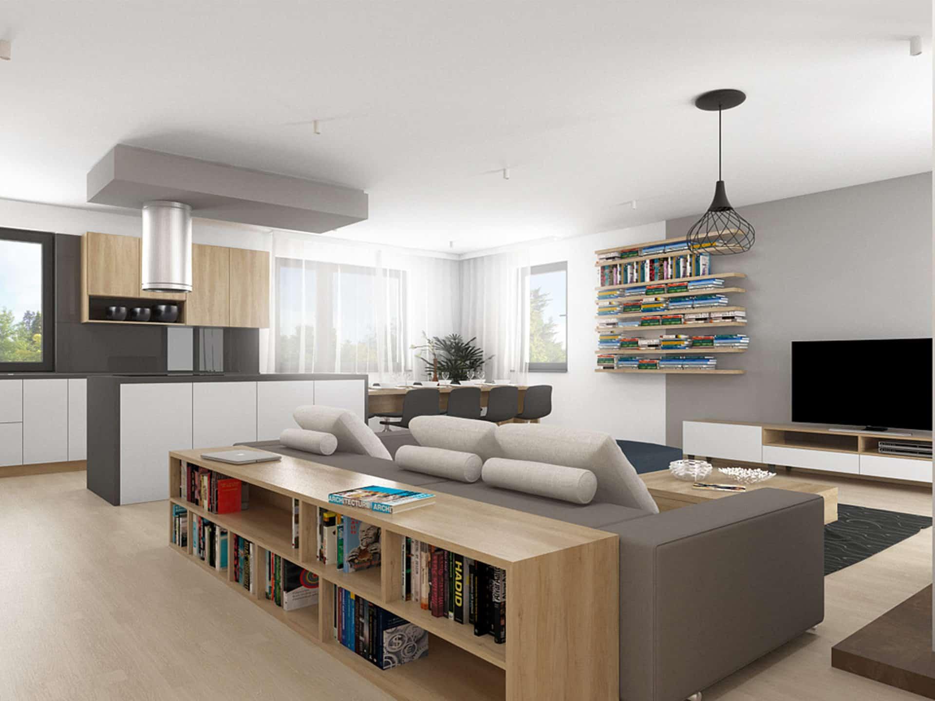 Interiér rodinného domu