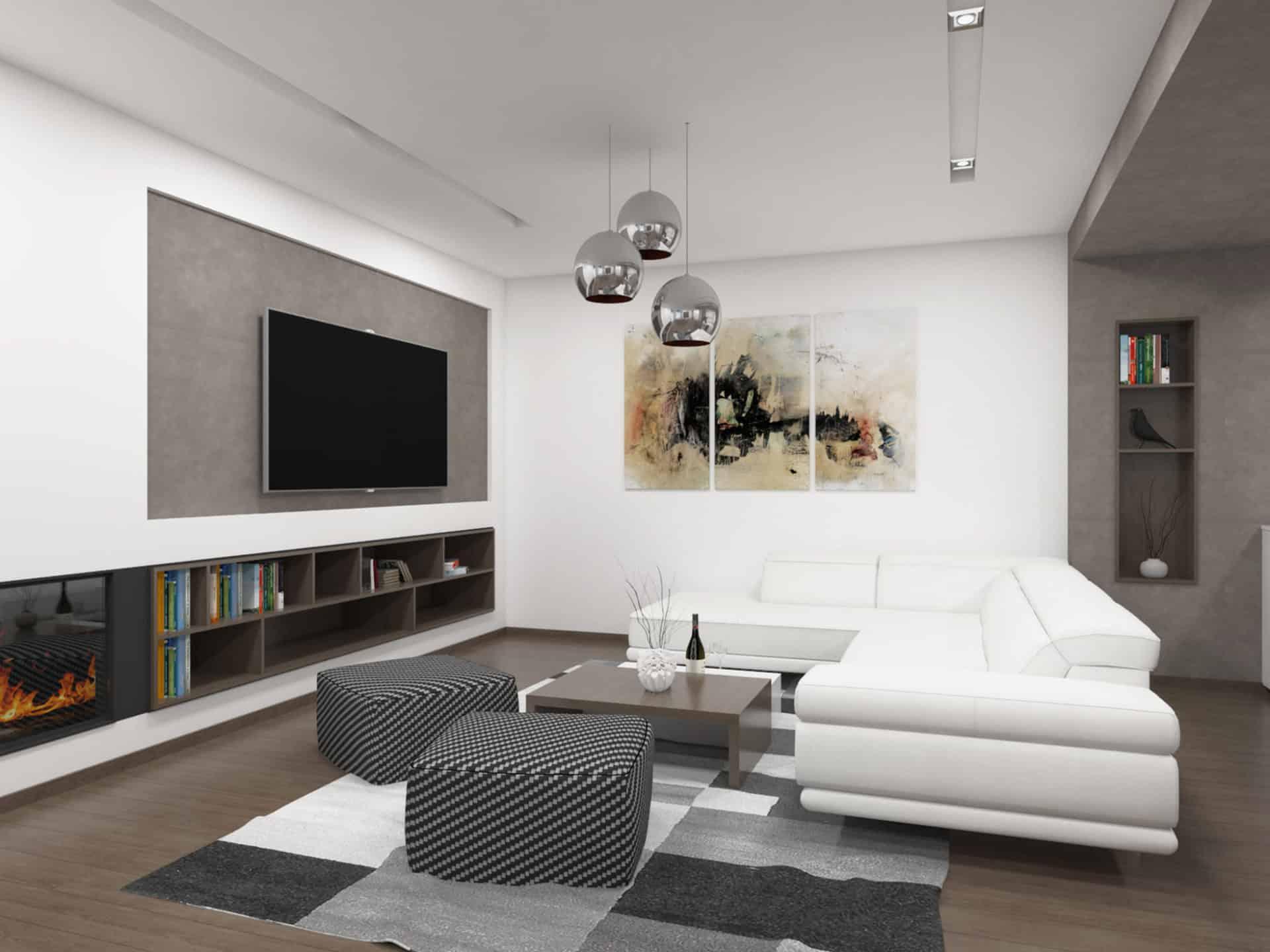 Interiér rodinného domu - Olšovany